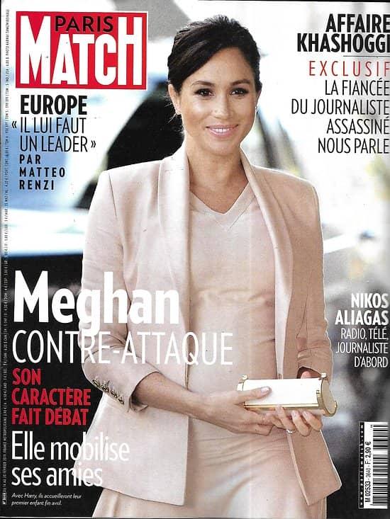 PARIS MATCH n°3640 14/02/2019  Meghan Markle/ Europe/ Dick Cheney/ Tulum/ Nikos Aliagas/ Mick Schumacher