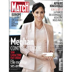 PARIS MATCH n°3640 14/02/2019  Meghan Markle/ Europe/ Dick Cheney/ Tulum/ Nikos Aliagas/ Mick Schumacher