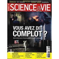 SCIENCE&VIE n°1187 août 2016  Croyance aux complots/ Hyperloop/ Lyme/ Soleil