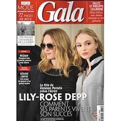 GALA n°1341 21/02/2019  Lily-Rose Depp/ Modz au Macchu Picchu/ les Lellouche/ Gérard Lanvin/ lady Gaga/ Margot Robbie