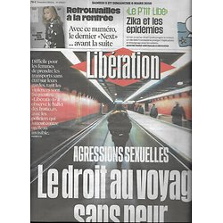 LIBERATION n°10820 05/03/2016  Agressions sexuelles/ Stephen Curry/ Rue89/ Mickey/ Jacques Nolot