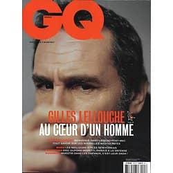 GQ n°127 février 2019  Gilles Lellouche, au coeur d'un homme/ Post-masculinité/ Dupond-Moretti/ Concept-cars