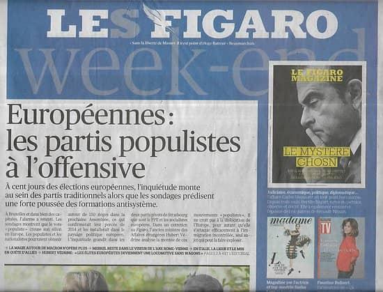 LE FIGARO n°23174 15/02/2019  Européennes: populistes à l'offensive/ Airbus A380/ Jacques Dutronc/ Sport médicament/ Alain Juppé