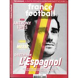 FRANCE FOOTBALL n°3796 19/02/2019  Griezmann l'Espagnol/ Anthony Lopes/ Messi/ Joshua Kimmich/ OL vintage