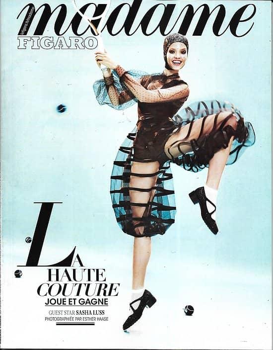 MADAME FIGARO n°23174 15/02/2019  Haute couture/ Sasha Luss/ Saoirse Ronan/ Césars/ Tara Westover/ François Ozon