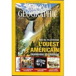 NATIONAL GEOGRAPHIC n°200 mai 2016  Ouest Américain/ Yellowstone/ Lac Turkana