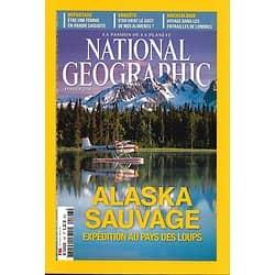 NATIONAL GEOGRAPHIC n°197 février 2016  Alaska sauvage: expédition parmi les loups/ Le goût des aliments/ Londres