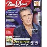 NOUS DEUX n°3742 19/03/2019  Julien Clerc/ Tartes salées/ Famille Cousteau/ Tisanes/ Lieux qui portent bonheur