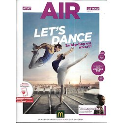"AIR LE MAG n°97 mars 2019  Rayane Bensetti & Brahim Zaibat ""Let's dance""/ Youssoupha/ la Lecture & les jeunes/ ""Miracle workers""/ Ofenbach"