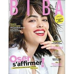BIBA (Pocket) n°468 mars 2019  Oser s'affirmer!/ Spécial mode/ Clara Luciani/ Beauté: l'essentiel/ Montréal
