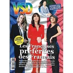 VSD n°2136 mars 2019  Les Françaises préférées/ Laponie ice riding/ Vélo freeride/ Ile d'Eigg verte/ saga Mini/ Jamaïque/ Toutankhamon/ Michel Bussi