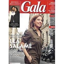 GALA n°1344 14/03/2019  Léa Salamé/ Monica Bellucci/  Luke Perry/ Audrey Lamy/ Spécial accessoires à Zanzibar