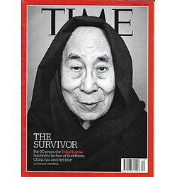TIME VOL.193 n°10 18/03/2019  Dalai Lama, a man of faith/ Migrant family's perilous trip/ High school shooting teams/ Brie Larson/ Frida Kahlo/ Kushner