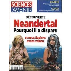 SCIENCES ET AVENIR n°796 juin 2013  Neandertal/ Diabète/ Climat/ Requins/ Khéops