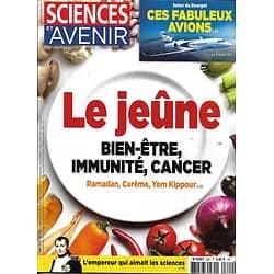SCIENCES ET AVENIR n°820 juin 2015  Le jeûne/ Salon du Bourget/ Napoléon/ Requin