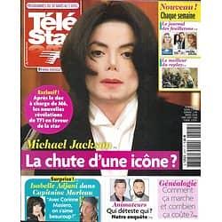 TELE STAR n°2217 30/03/2019  Michael Jackson/ Isabelle Adjani/ Animateurs tv/ Peter Falk/ Felicity Huffman/ Kim Raver/ Michel Blanc