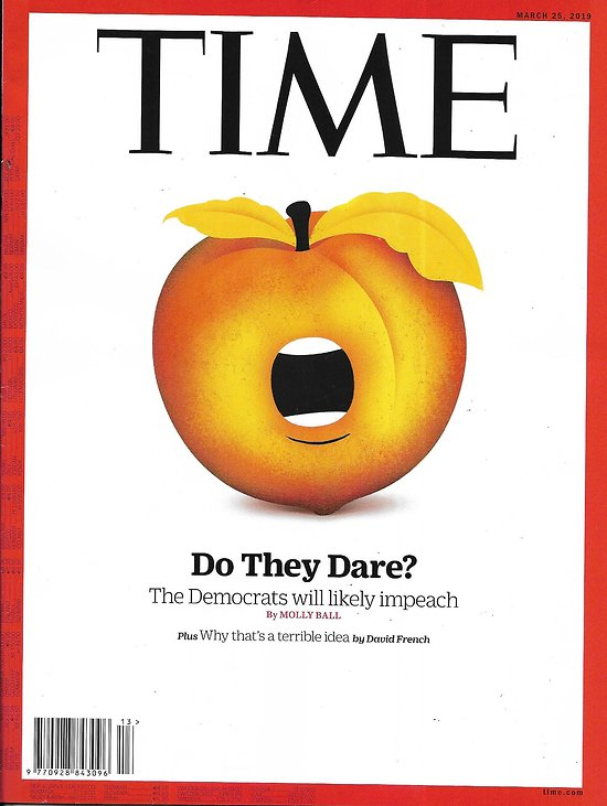 TIME VOL.193 n°11 25/03/2019  The path to impeachment/ The new slavery/ Rachel Hollis/ Self-help books/ Gayle King