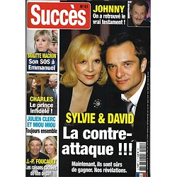 SUCCES n°41 mars-mai 2019  Sylvie Vartan & David Hallyday/ Brigitte Macron/ Foucault/ Prince Charles