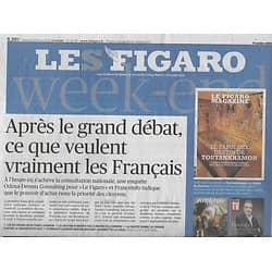 LE FIGARO n°23198 15/03/2019  Les priorités des Français/ Musique en ligne/ James Ivory/ Brexit/ Choc des civilisations/ Pakistan/ Climat