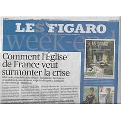 LE FIGARO n°23217 06/04/2019  Crise de l'Eglise/ Les militaires en Algérie/ Extrême-droite en Israël/ Homophobie & VIH en Afrique/ Opticiens inquiets/ Eataly à Paris