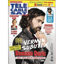"TELECABLE SAT HEBDO n°1509 06/04/2019  Romain Duris ""Vernon Subutex""/ Tanguy/ Starmania/ Michael Connelly"