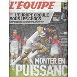 L'EQUIPE n°22766 19/11/2016  XV de France/ Wesley Fofana/ Andy Murray/ Monaco/ Griezmann/ Zidane/ Dembélé/ Webber