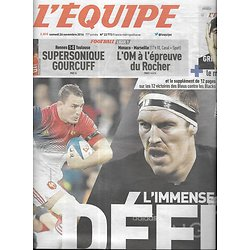 L'EQUIPE n°22773 26/11/2016  France-Nouvelle-Zélande/ XV de France/ All Blacks/ Toto Wolf/ OM/ OL/ PSG/ Spurs