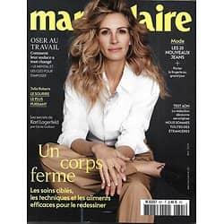 MARIE CLAIRE (POCKET) n°801 mai 2019  Julia Roberts/ Un corps ferme/ Nouveaux jeans/ Oser au travail/ Jeanne Added/ test ADN