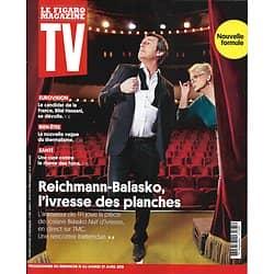 TV MAGAZINE 21/04/2019 n°1681  Reichmann & Balasko/ Bilal Hassani/ Julie Taton/ Eric Antoine/ Uma Thurman