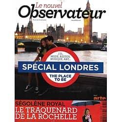 LE NOUVEL OBSERVATEUR n°2484 14/06/2012  Spécial Londres/ Ségolène Royal/ La crise grecque