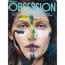 OBSESSION n°4 août 2012  Laetitia Casta/ Karl Lagerfeld/ Lou Doillon/ Stanford/ Paul Graham