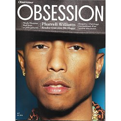 OBSESSION n°17 avril 2014  Pharrell Williams/ Mazarine Pingeot/ Olivier Metzner