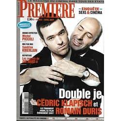 PREMIERE n°362 avril 2007  Klapisch & Duris/ Kiberlain/ Porno/ Piccoli/ Die Hard