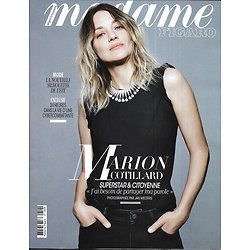 MADAME FIGARO n°23234 26/04/2019  Marion Cotillard/ Mode: sur la route de l'été/ Les cybercombattantes/ La folie  vintage