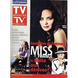 TV MAGAZINE n°1164 24/05/2009  Valérie Bègue/ Geneviève de Fontenay/ Cindy Fabre/ Marine Delterme/ Stéphane Plaza/ Rafael Nadal