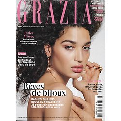 GRAZIA n°490 26/04/2019  Indya Moore/ Rêves de bijoux/ Paris bouge!/ Julianne Moore/ Algérie, soif de démocratie