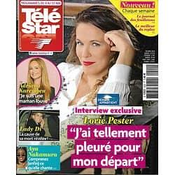 TELE STAR n°2222 04/05/2019  Lorie Pester/ Adriana Karembeu/ Lady Di/ Aya Nakamura/ Brad Pitt & Angelina Jolie
