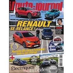 L'AUTO-JOURNAL n°1032 25/04/2019  Nouveautés Renault/ Electriques & hybrides/ Ayrton Senna/ Salon de Shanghai