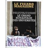 LE FIGARO MAGAZINE n°23245 10/05/2019  Le grand noyautage des universités/ Le chat, espèce invasive?/ Festival de Cannes/ Spécial horlogerie/ Singapour: Jewel