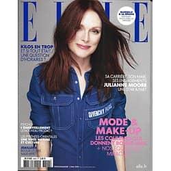 ELLE n°3828 03/05/2019  Julianne Moore/ Mode & make-up bonne mine/ L'émerveillement contre le pessimisme/ Ali McGraw/ Joaillerie/ Pyrénées-Orientales