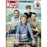PARIS MATCH n°3651 02/05/2019  Canet, Cluzet, Cotillard & Lellouche/ R.I.P. Marielle/ Macron en reconquête/ Pollution plastique