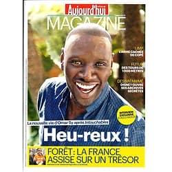 AUJOURD'HUI EN FRANCE MAGAZINE n°4039 30/11/2012 Omar Sy/ Dossier Forêts/ Disney