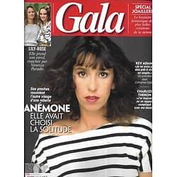 GALA n°1352 19/05/2019  Anémone/ Spécial Cannes/ Charlize Theron/ Kev Adams/ Spécial joaillerie