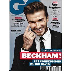 GQ n°99 juin 2016  David Beckham/ Profilers/ R.Crowe/ Isaac/ Cannes Sexy Stars