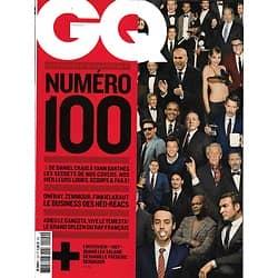 GQ n°100 juillet 2016  Collector/ Secrets des Covers/ Néo-Réacs/ GP Monaco/ Léa Salamé