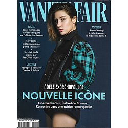 VANITY FAIR n°68 mai 2019  Adèle Exarchopoulos/ Affaire Besson/ Pop factory/ Constance Debré/ Bret Easton Ellis