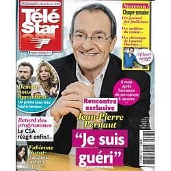 "TELE STAR n°2227 08/06/2019  Jean-Pierre Pernaut/ ""Demain nous appartient""/ Johnny Clegg/ Fabienne Carat/ Leonardo Dicaprio/ Elie Kakou"