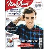 NOUS DEUX n°3754 11/06/2019  Antoine Griezmann/ Spécial pâtisserie/ Pierre Bellemare/ Grasse/ 100 ans de Citroën