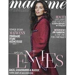 MADAME FIGARO n°21241 16/11/2012  Maïwenn/ Spécial Accessoires/ Jim Harrison/ Déborah François