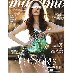 MADAME FIGARO n°21341 15/03/2013  Spécial Accessoires/ DeLillo/ Olivia Ruiz/ Sylvia Fendi